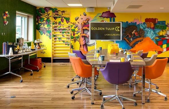 Golden tulip lyon eurexpo - creativity room