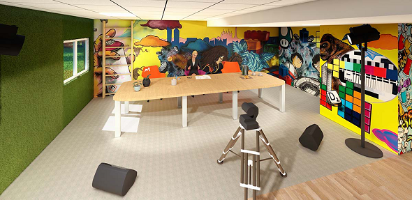 Golden tulip lyon eurexpo - virtual meeting creativity room