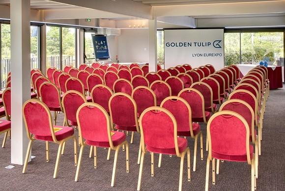 Golden tulip lyon eurexpo - salon orangerie - theater