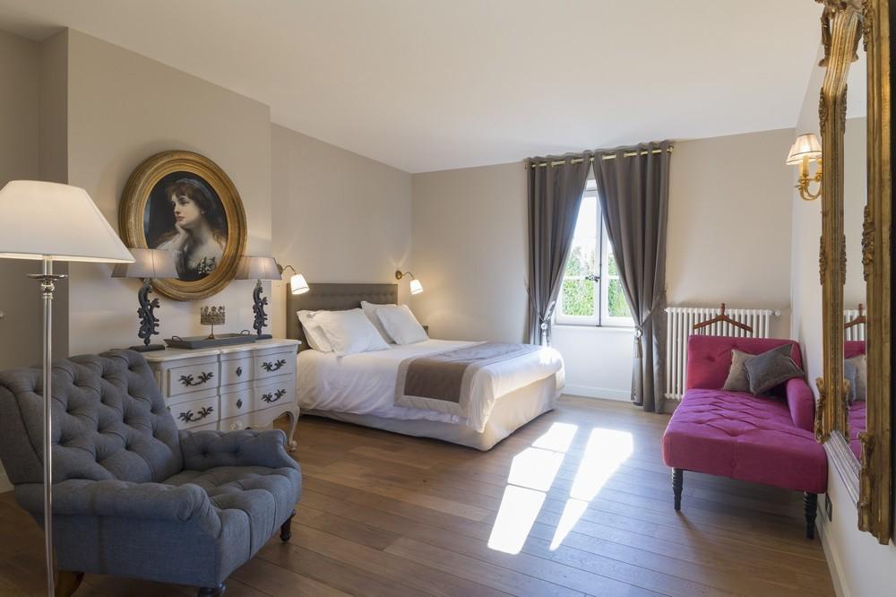 Domaine morgon la javernière - bedroom
