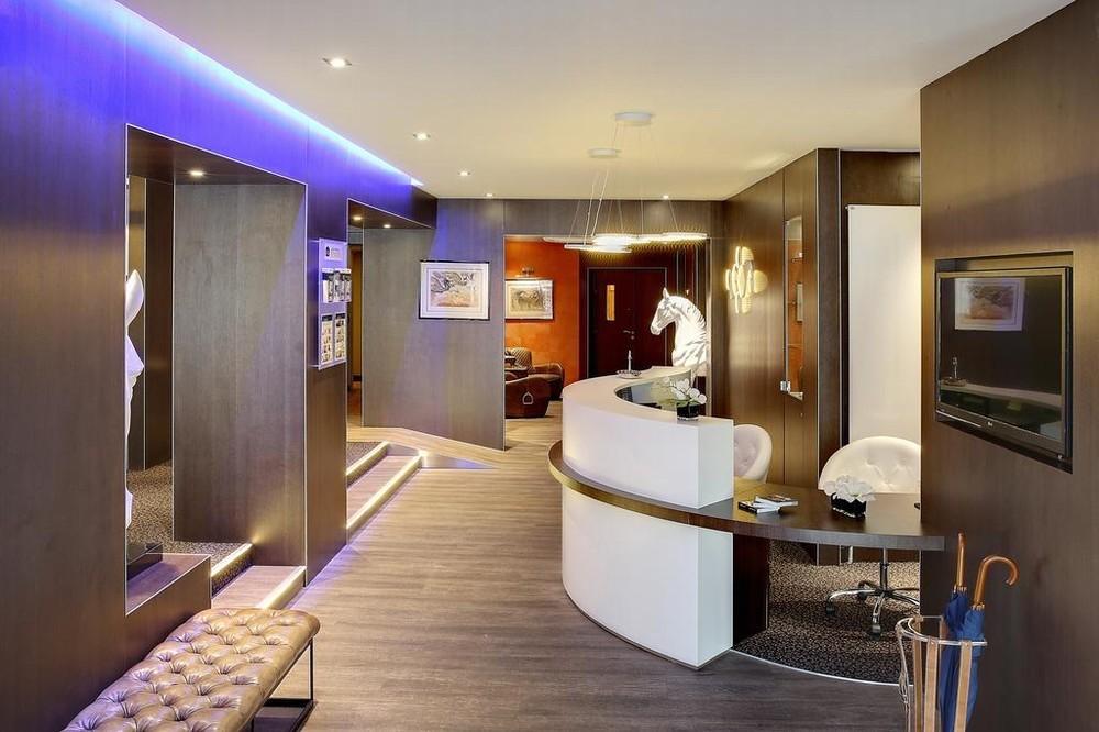 Miglior hotel e spa del primo post occidentale - reception