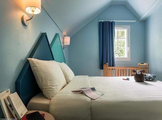 Domaine du lac d'ailette - bedroom