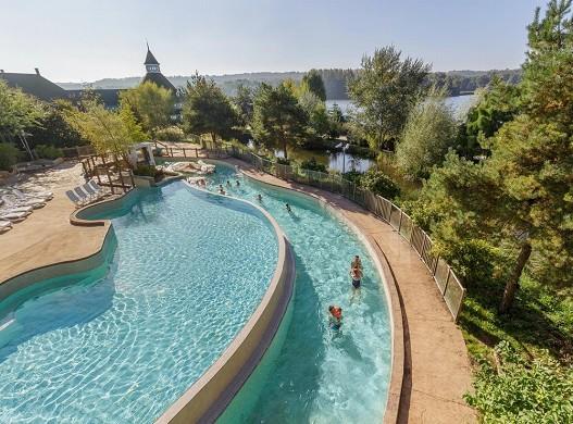 Domaine du lac d'ailette - outdoor swimming pool