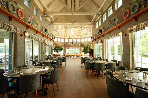 Domaine du lac d'ailette - restaurant