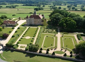 Chateau de Beauvoir - Panoramic view