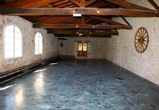 Castello di Cujac - interno