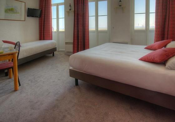 Hotel de france et d'angleterre - dormitorio