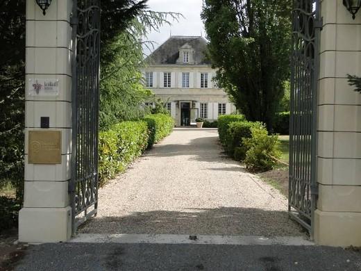 La villa d'ô bellevue - arrival at the villa