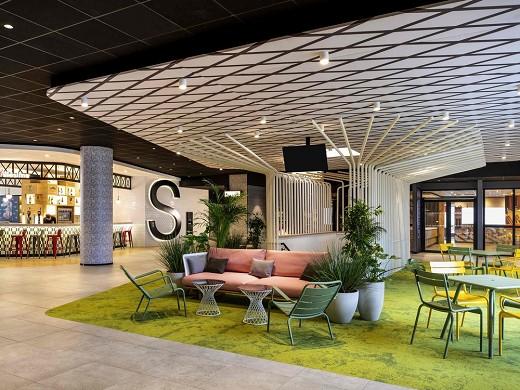 Ibis paris cdg aeroporto - hall dell'hotel