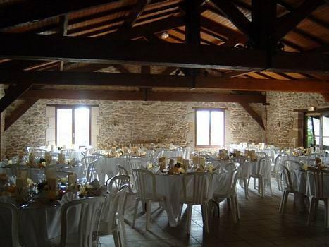 Château saint vincent - reception room