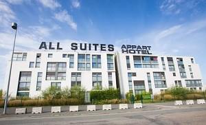 All Suites Appart Hotel Bordeaux-Lac - Frente