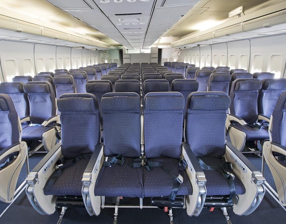 Mus e de l 39 air et de l 39 espace salle s minaire saint for Interieur 747 cargo