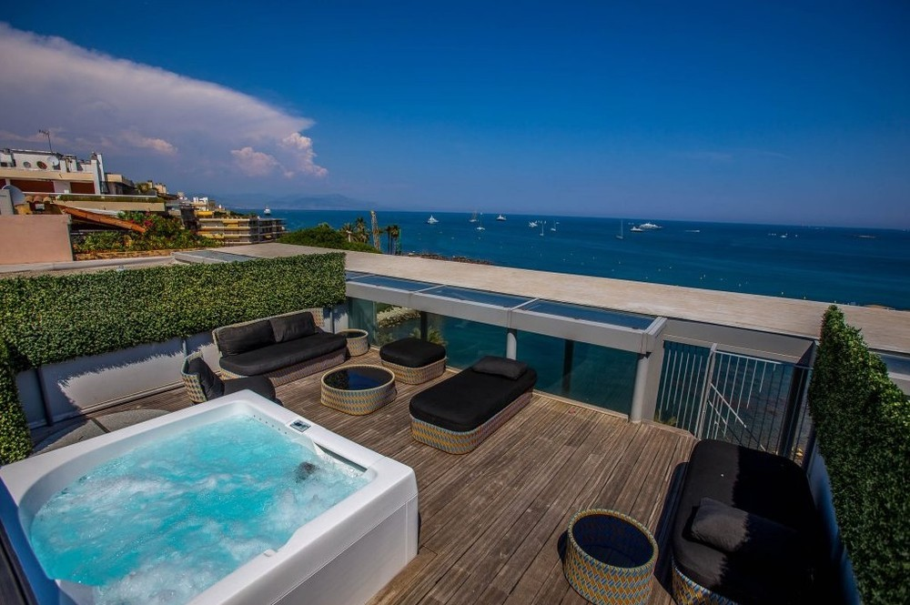 Hôtel royal antibes - jacuzzi