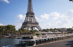 Le Grand Bleu - Vista da Torre Eiffel