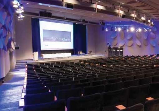 Palais des Congres de Paris anfiteatro