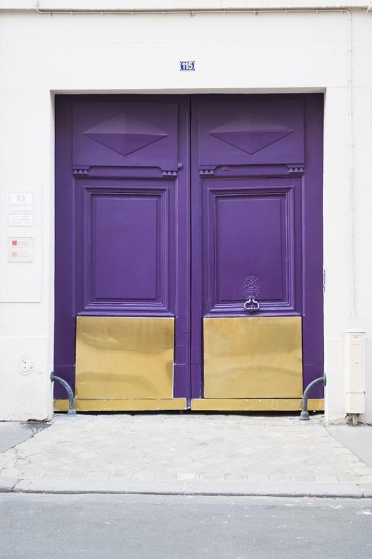 Violet Villa - door