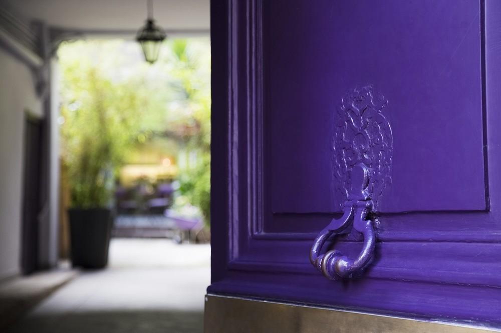 Purple Villa - Entrance