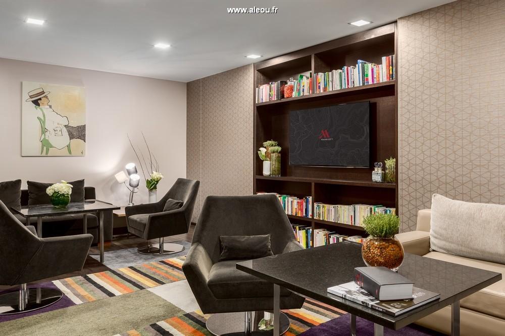 Paris marriott rive gauche hotel  conference center - lounge