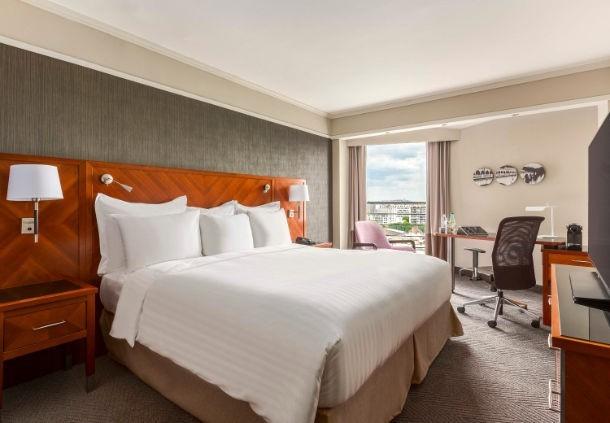 Paris marriott rive gauche hotel  conference center - chambre prestige