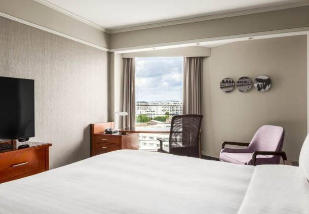 Paris marriott rive gauche hotel  conference center - chambre deluxe