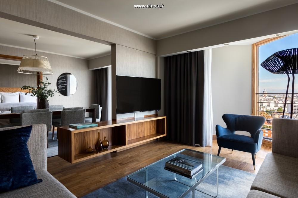 Paris marriott rive gauche hotel  conference center - champagne suite
