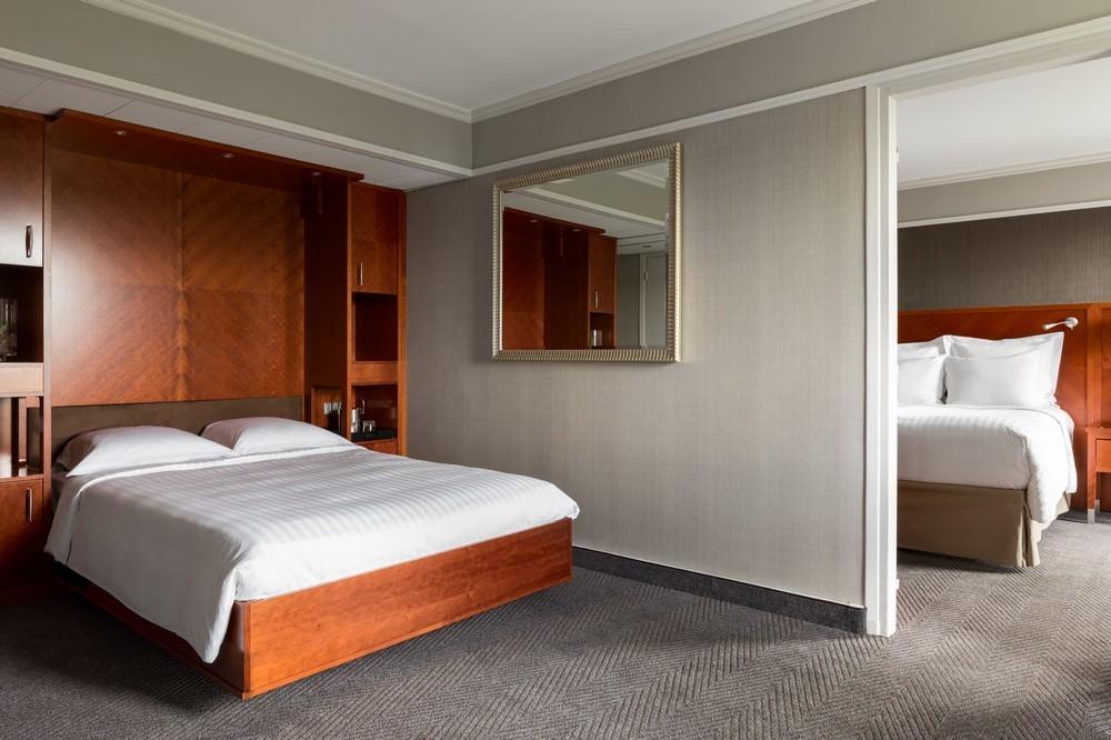 Paris marriott rive gauche hotel  conference center - family suite