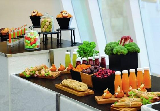 Paris marriott linkes Bankhotel Konferenzzentrum - Event-Catering