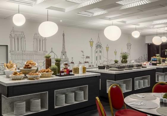 Centro congressi dell'hotel Paris Marriott left bank - galleria