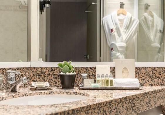 Paris Marriott verließ Bankhotelkonferenzzentrum - Badezimmerraumprestige