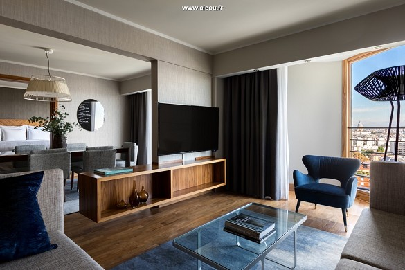 Centro congressi Paris Marriott sulla riva sinistra dell'hotel - champagne suite