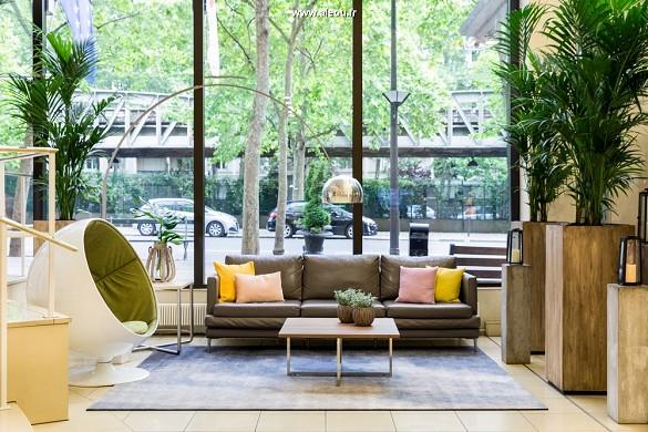 Paris marriott linkes Bankhotel Konferenzzentrum - Lobby - Sitzplatzbereich