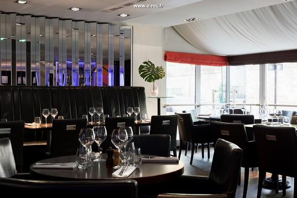 Il centro congressi dell'hotel Paris Marriott sulla riva sinistra - r'yves restaurant