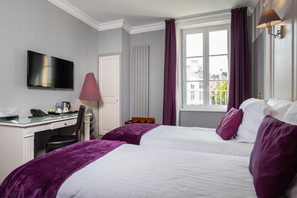 Grand Hotel du Luxembourg - Doppelzimmer