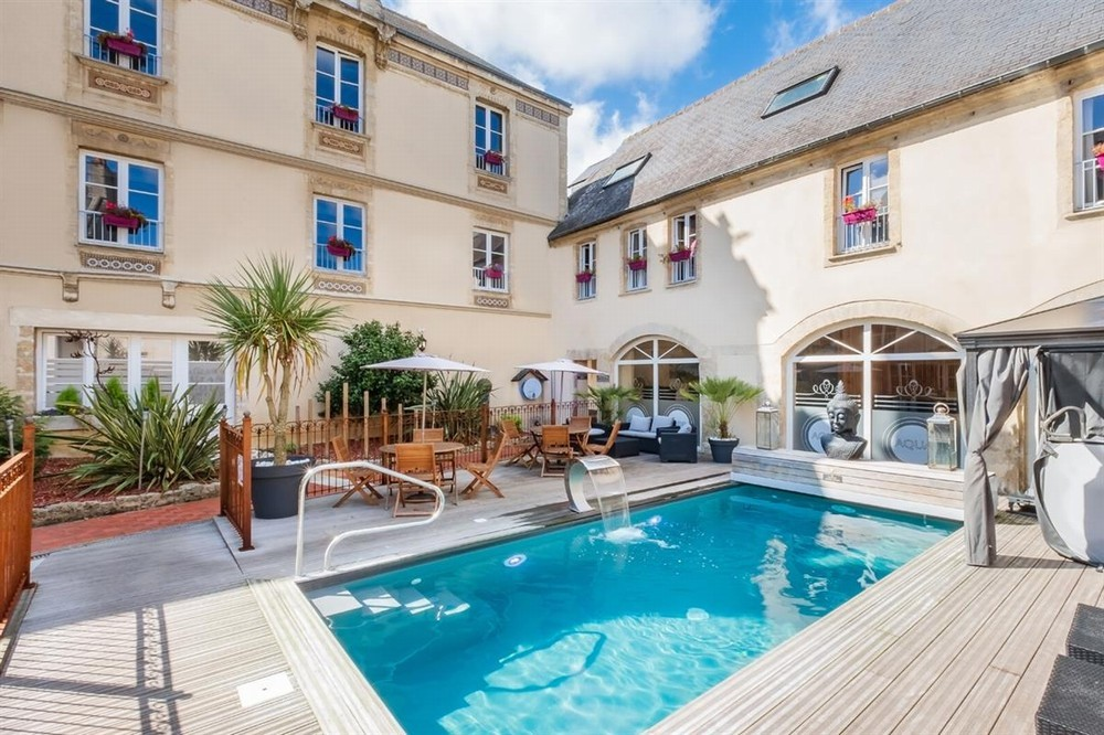 Grand Hotel du Luxembourg - Hotelschwimmbad