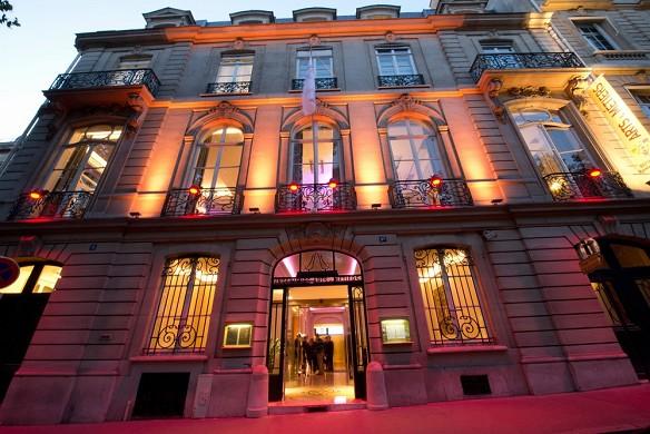 I saloni dell'hotel delle arti e dei mestieri - facciata
