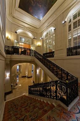 I saloni dell'hotel delle arti e dei mestieri - scalone d'onore