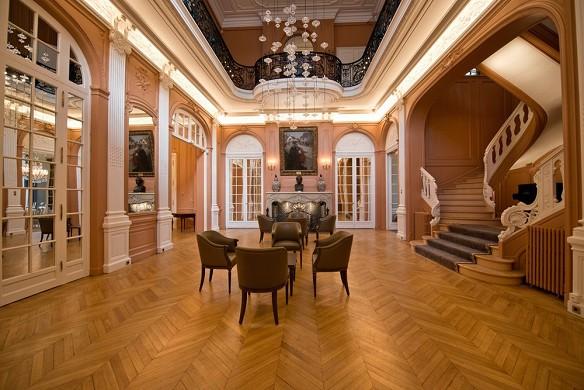 I saloni dell'hotel delle arti e dei mestieri - salone d'onore