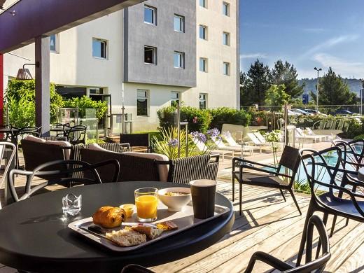 Ibis toulon la valette - terrace