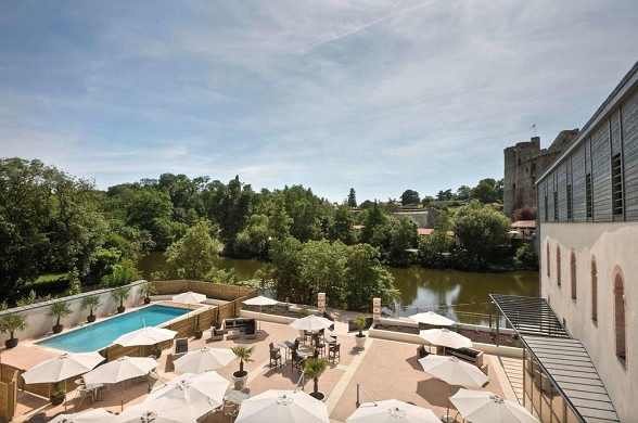 Best western plus villa saint antoine - terrace