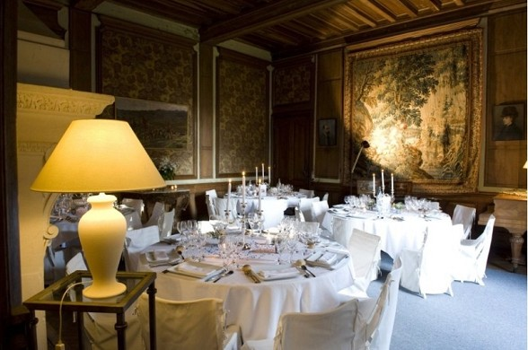 Castillo de Pordor - salón de banquetes