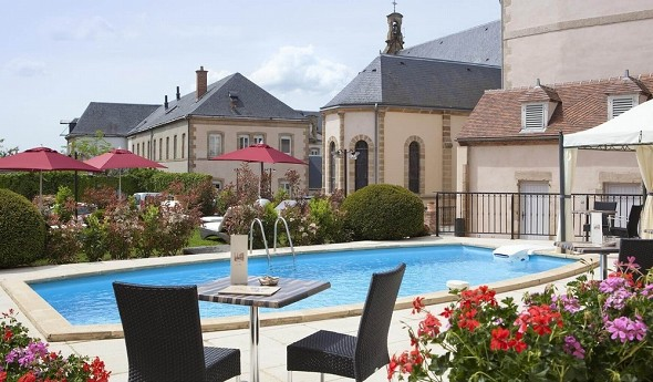 Mercure Moulins Center Hotel de Paris - Schwimmbad