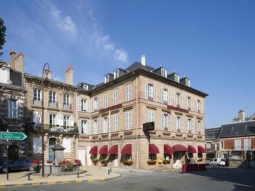 Mercure moulins center hôtel de paris - exterior
