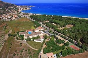Hotel Pascal Paoli - vista desde arriba