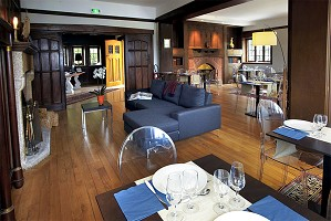 Manoir Dalmore - principale Lounge