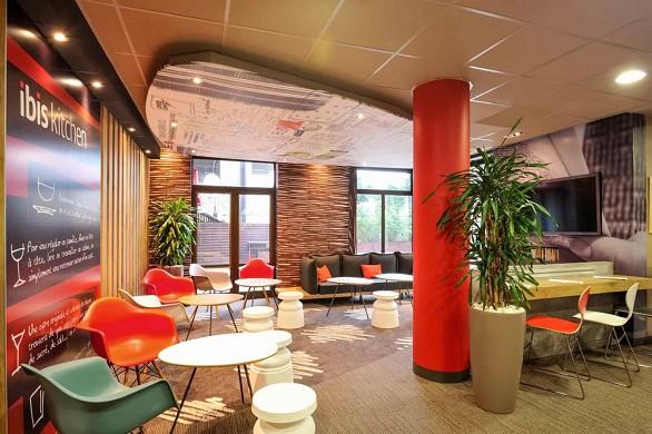 le stazioni del centro Ibis Lille - all'interno dell'hotel