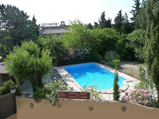 Hotel ermitage avignon - swimming pool