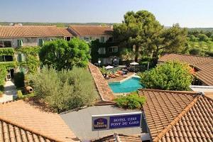 Logis Hotel Uzes Pont du Gard - seminarios hoteleros Uzes