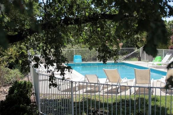 Mas de balms - piscina