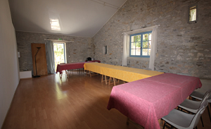 PICCOLA SALA BERGERIE - Domaine le Hameau de l'Etoile