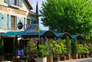 Hotel Restaurant de la Promenade - Außenansicht